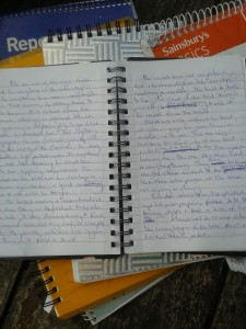 Collector- original notebook