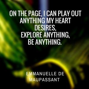 Emmanuelle de Maupassant 1