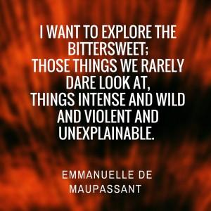 Emmanuelle de Maupassant author of 3