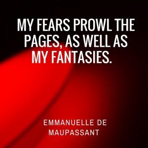 Emmanuelle de Maupassant erotic fiction author