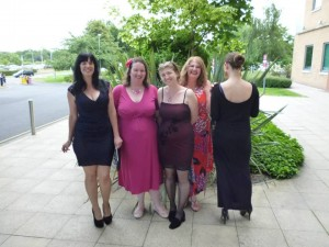 Lexie, Victoria, Kay, Kd and Tabitha