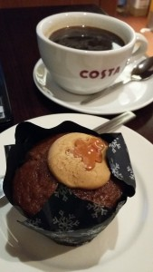 Costa ginger muffin