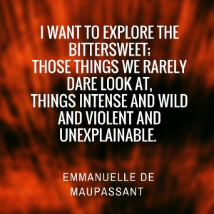 Emmanuelle de Maupassant author of 3