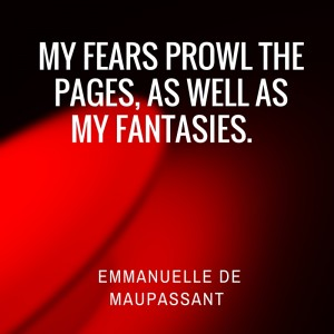 Emmanuelle de Maupassant erotic fiction author